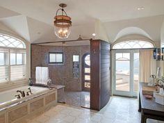 Oceanfront Resort - Beach-Inspired Decorating Ideas for Bathrooms on HGTV