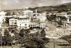Estación de Servicio de Plaza Venezuela, 1950.