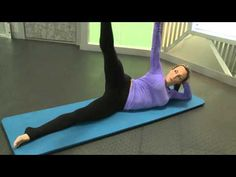 Mat Pilates at Home - No Reformer Needed! - YouTube