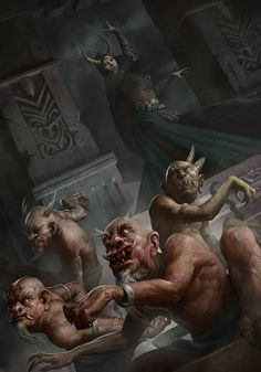 Oniric Realms — meanwhilebackinthedungeon:   Demons