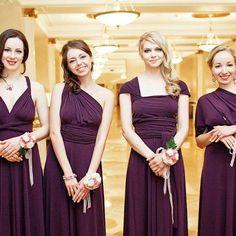 Von Vonni: Transformer Dress for bridesmaids but in grey