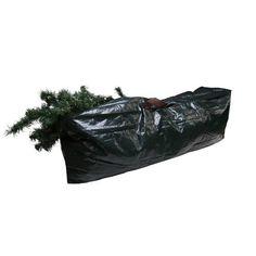 Christmas Tree Large Storage Bag Zip Up Green Plastic Carrying Organizing Sack Christmas Tree Bag, Christmas Tree Storage Bag, Xmas Tree, Large Storage Bags, Bag Storage, Xmas Decorations, House Styles, Green, Organizing