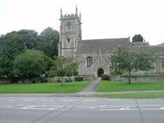 St Mary's Church Swindon. Where I was christened and my parents married.