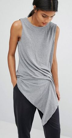 Draped top>simple elegance