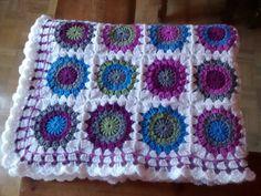 Manta de Natalia Blanket, Sewing, Knitting, Crochet, Make Envelopes, Bed Covers, Dressmaking, Couture, Tricot