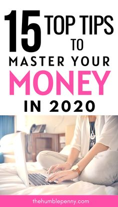 15 Top Tips To Master Your Money In 2020. As the New year kicks off, many will have money resolutions. Taking the steps to master your money in the New Year is important for a number of reasons. These are the mechanisms you use to develop your skills and achieve your goals. Make Money Blogging, Money Tips, Money Saving Tips, How To Make Money, Saving For Retirement, Financial Literacy, How To Get Rich, Money Matters, Finance Tips