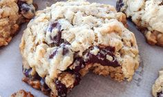 """""""Miracle Milk"""" Cookies With Quick Oats and Chocolate Chips Lactation Recipes For Breastfeeding Moms Baby Food Recipes, Cookie Recipes, Recipes Dinner, Snack Recipes, Dessert Recipes, Breastfeeding Foods, Lactation Recipes, Healthy Lactation Cookies, Lactation Foods"""
