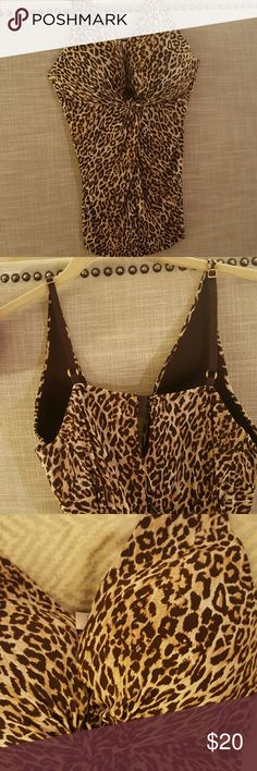 Victoria's Secret Very Sexy Leopard Cami 34C 100% Nylon. Push-up and under wire. Adjustable straps and back. Victoria's Secret Intimates & Sleepwear Chemises & Slips