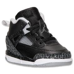 Boys' Toddler Jordan Spizike Basketball Shoes   Finish Line   Black/Cool  Grey/