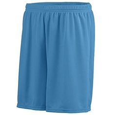 Augusta Sportswear Men's Octane Wicking Short, Columbia Blue, Small