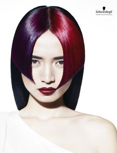White Angles Collection (Long). Essential Looks Spring-Summer 2013. Schwarzkopf Professional.