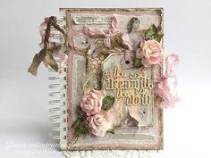 """Janin creative garden: Diary """"Follow your dreams"""" / Journal """"Follow Your Dreams"""""""
