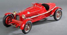 POCHER Classic, Alfa Romeo 8C 2300 Monza 1931 Rouge. Echelle 1/8 réf K71  Tradart Deauville à Deauville et sur le Live d'Interencheres  Estimation : 400 € - 600 €  Dimanche 18 octobre 2015