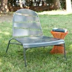 @Overstock - Enjoy this lounge chair by the pool or on the patio, or even indoors. The simple, contemporary design makes it a great addition to any home. The chair is made of tube iron and sheet metal with a silver, powder-coat finish, making it perfect for any spot.http://www.overstock.com/Home-Garden/Silver-Indoor-Outdoor-Lounge-Chair/6990914/product.html?CID=214117 $161.99