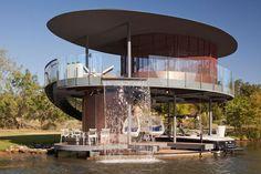 House Boat Design | Shore Vista Boat Dock by Bercy Chen Studio