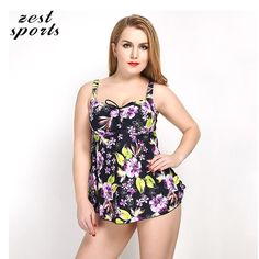 23.40$  Buy now - http://ali4fz.shopchina.info/go.php?t=32808434705 - 7403,women floral One-Piece Swimsuits, Summer new beach skirt  suits,  female plus size swimwear, Big skirt 23.40$ #shopstyle
