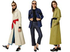 This Blogger Just Designed the Fall Coats of Your Dreams via Brit + Co.