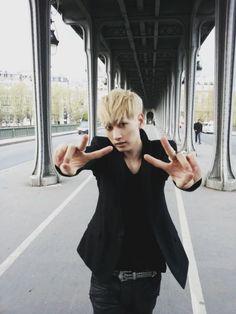 Eunhyuk in Paris