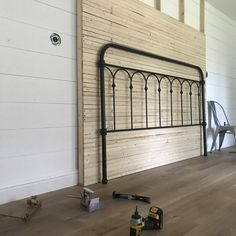 Removable skinny lap accent wall – Pine & Birch Blog
