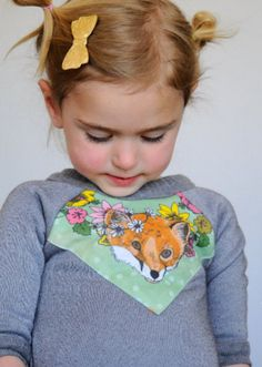 Fox Print Sweatshirt | Supayana on Etsy