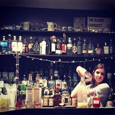 Nana's shake face @aperitivo_oc cocktail training #TheOC #TheOliverConquest #lovegin #ourlittlehouseofgin #aldgateeast #aldgate #whitechapel #towerhill #towerbridge #Negroni #Cocktails #Aperitivo by lovegin_theoliverconquest