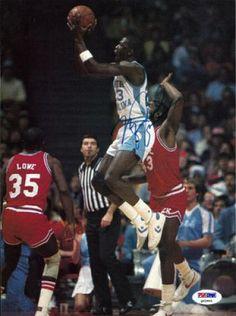 70ca258efbc Michael Jordan Signed UNC Tar Heels Photograph - PSA/DNA - Sports  Memorabilia