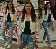 Parineeti Chopra in a Casual Avatar!!