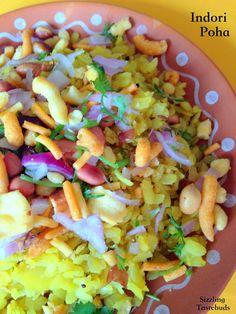 Sizzling Tastebuds: Indori Poha   A scrumptious breakfast from Madhya Pradesh