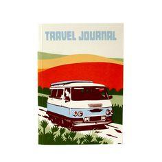 TRAVEL JOURNAL CAMPER | reisdagboek met envelopjes