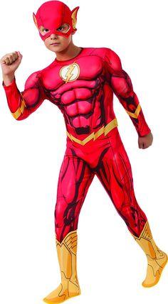 DC Comics Deluxe Flash Costume #Halloween #HalloweenCostume #HalloweenCostumeContest