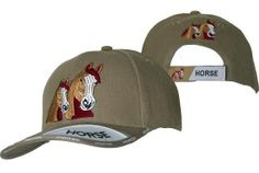Checkout this amazing product FREE SHIP NEW Embroidered Large Double Horse Baseball Cap at Shopintoit