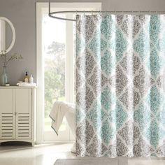 Kassatex Hampton Stripe Shower Curtain