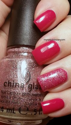 OPI Koala Bear-Y with China Glaze Hello Gorgeous!