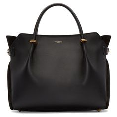 Nina Ricci - Black Leather Medium Marche Bag