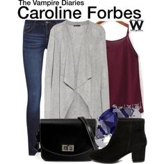 Inspired by Candice King as Caroline Forbes on The Vampire Diaries.