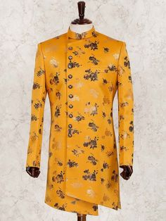Indo western for men, Wedding Indowestern Sherwani Shopping, Latest Indo western Designs 2019 Latest Wedding Suits, Wedding Dresses Men Indian, Wedding Dress Men, Western Formal Wear, Western Suits, Western Dresses, Latest Kurta Designs, Mens Kurta Designs, Sherwani Groom