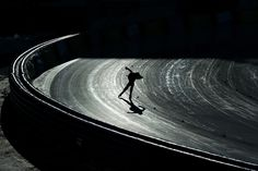 An athlete competes in the 1500m women's speed skating event at the Olympic Speedskating Oval on January 16, 2012 in Innsbruck, Austria. (Shaun Botterill/Getty Images)
