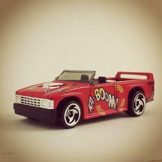 #541 - Mini Truck - 1997 Hot Wheels - Bif! Bam! Boom!
