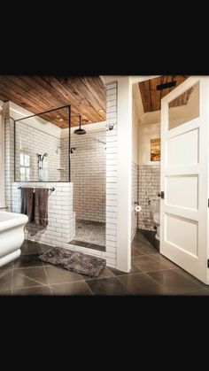 27 Luxury Walk in Shower Tile Ideas That Will Inspire You is part of Basement bathroom A luxury walkin shower creates a nice roomy feeling for your bathroom remodeling project The lack of obstructi - Bad Inspiration, Bathroom Inspiration, Bathroom Renos, Bathroom Interior, Bathroom Closet, Bathroom Vanities, Toilet Closet, Bathroom Furniture, Toilet Room