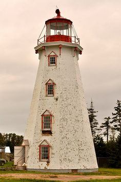 Panmure Island Lighthouse - Prince Edward Island - Canada- have loved this since Anne of Green Gables!!