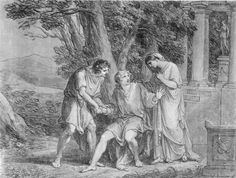 In 1779 werd Giethe's Iphigenie auf Taurus in Weimar opgevoerd met Corona Schröter in de hoofdrol en Goethe in de rol van koning Thoas.