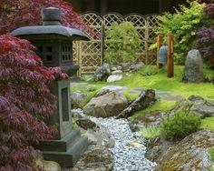 Wonderful Japanese Garden Design For Your Backyard Design Ideas: Exciting Japanese  Garden Green Grass Planter