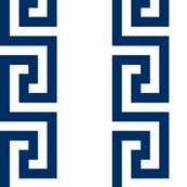 greek_key_stripnavy fabric by danikaherrick, click to view