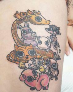 Added a little bit more colors  #tattoo #tattoodesigns #ink #tats