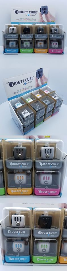 Brain Teasers and Cube Twist 19187: Lot Of 16 Zuru Original Fidget Cube By Antsy Labs - 2 Of Each Color - 8 Colors -> BUY IT NOW ONLY: $200 on eBay!