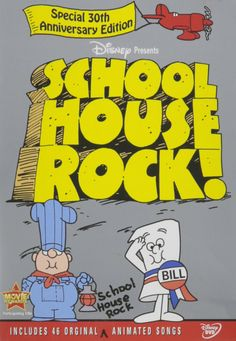 """Conjunction Junction, what's your function?"" Available on Amazon. ~ Schoolhouse Rock! (Special 30th Anniversary Edition)"