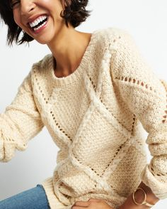 We're not knit-picky—we love all sweaters. Check out our guide to sweater dressing at the link in bio.