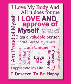 Every day affirmations..