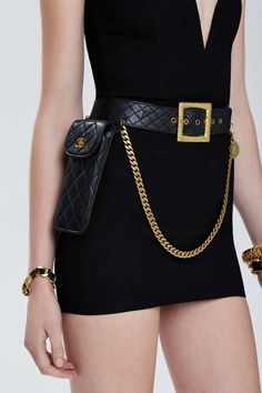 Vintage Chanel Quilted Leather Belt Bag | Shop Vintage at Nasty Gal!