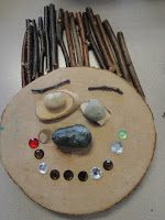 Using loose materials to make representations of facial elements associated with different feelings. Reggio Emilia, Play Based Learning, Early Learning, Art For Kids, Crafts For Kids, Farm Crafts, Emergent Curriculum, Reggio Classroom, Emotional Development